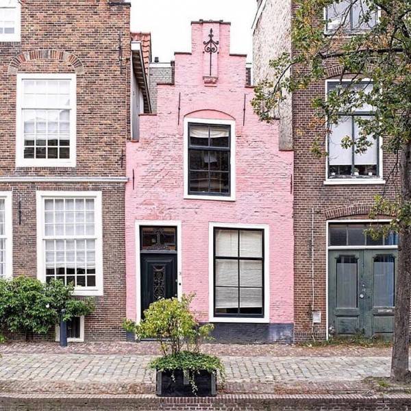Pink Townhouse