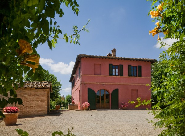 Tuscan Pink House