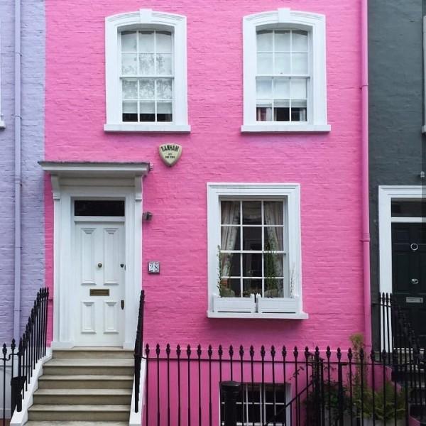 Bubblegum Pink House