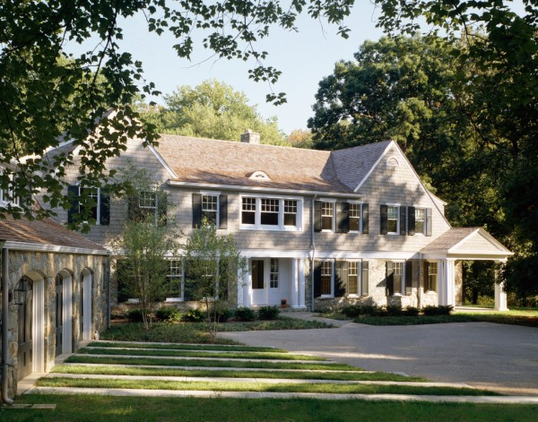 Classic Shingle Style Big House