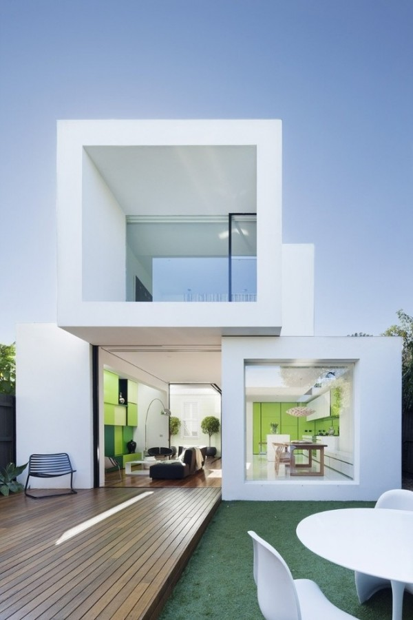 Glass Cube House
