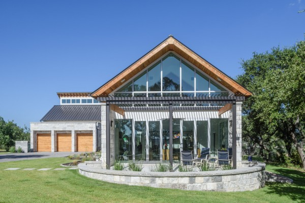 Belvedere Contemporary Glass House