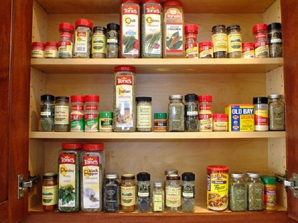 Sort and Group Spices and Products by Use