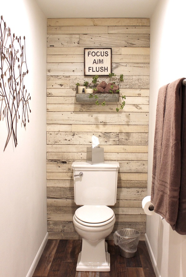 Reclaimed Wooden Wall