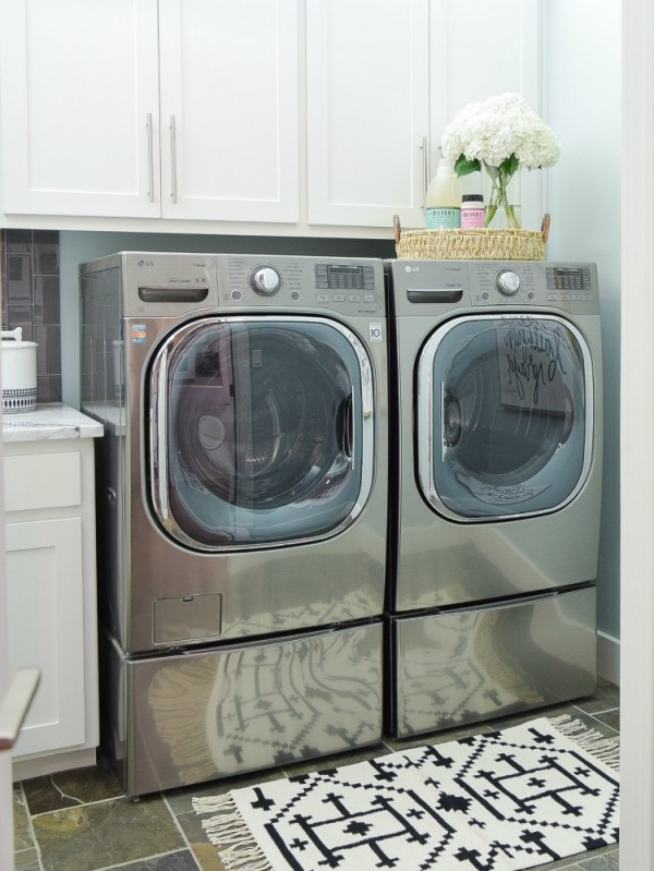 Pretty & Functional Laundry Room Details + Room Reveal