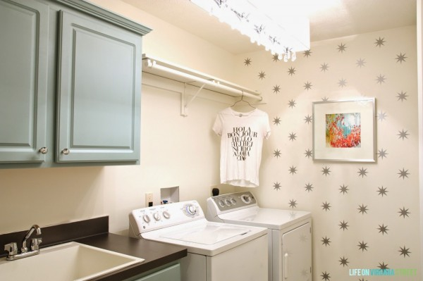 A Year of Change: Laundry Room Reveal