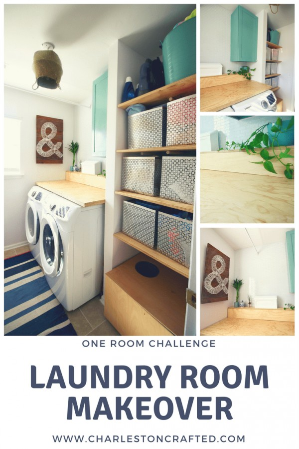 ORC: Laundry Room Makeover Reveal