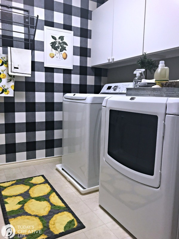 Budget Friendly Laundry Room Makeover