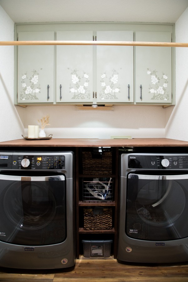 Laundry Room Final Reveal with Maytag