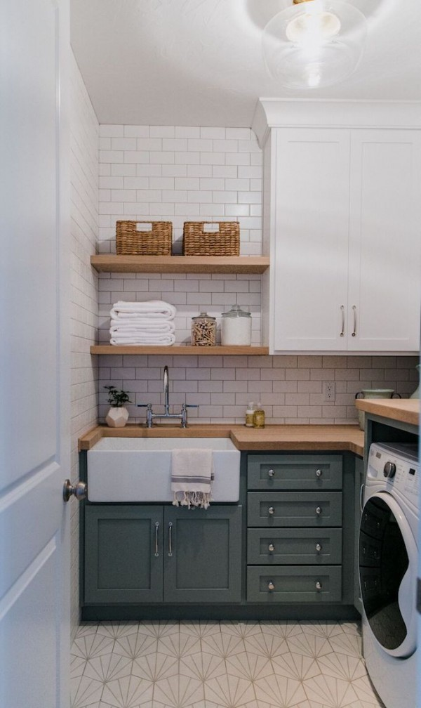 Brio Project Laundry Room Reveal + Design TipsBECKI OWENS