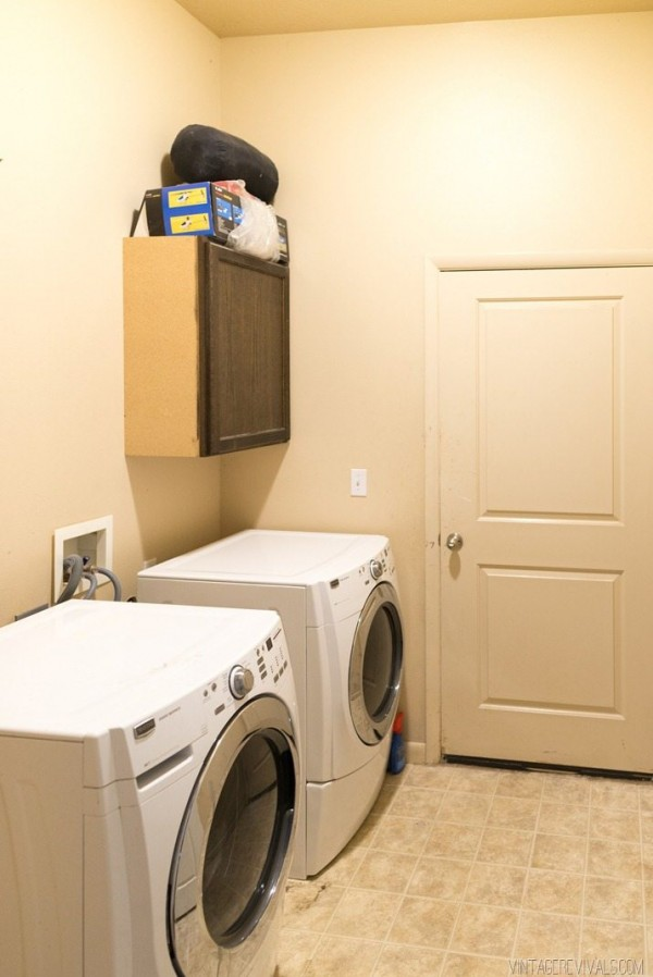 Laundry Room Makeover: Reveal • Vintage Revivals