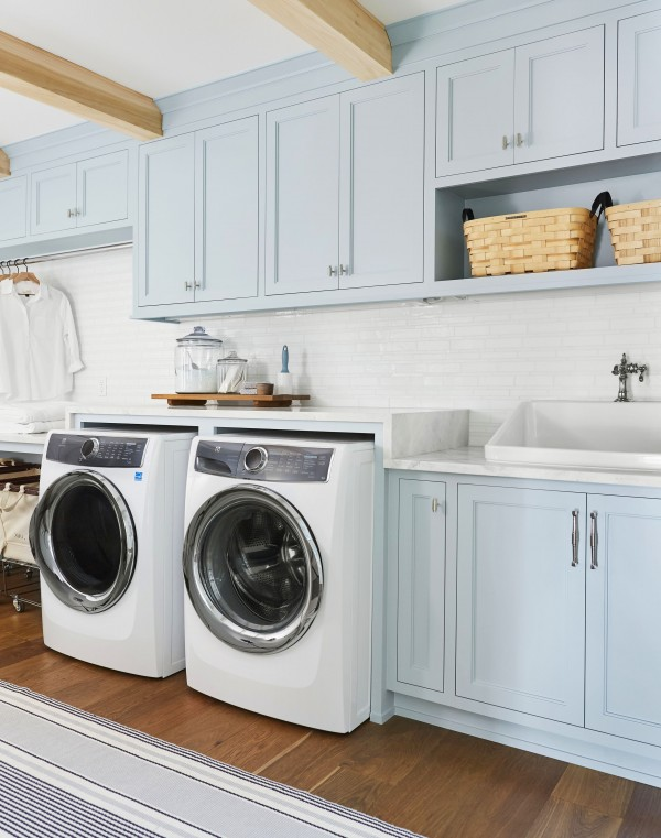 How We Designed a Family-Friendly Laundry Room in the Portland Project