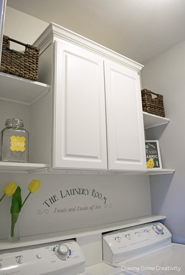 Budget Laundry Room Makeover Reveal -