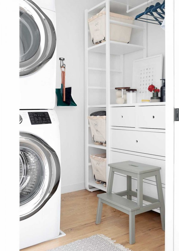 Weekend Laundry Room Makeover