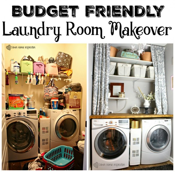 The BIG Laundry Room Redo Reveal!!!