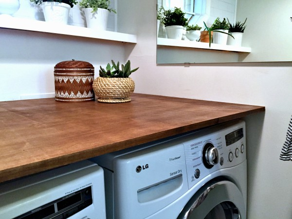 A Modern and Plant-Filled Laundry Room Makeover • Ugly Duckling House