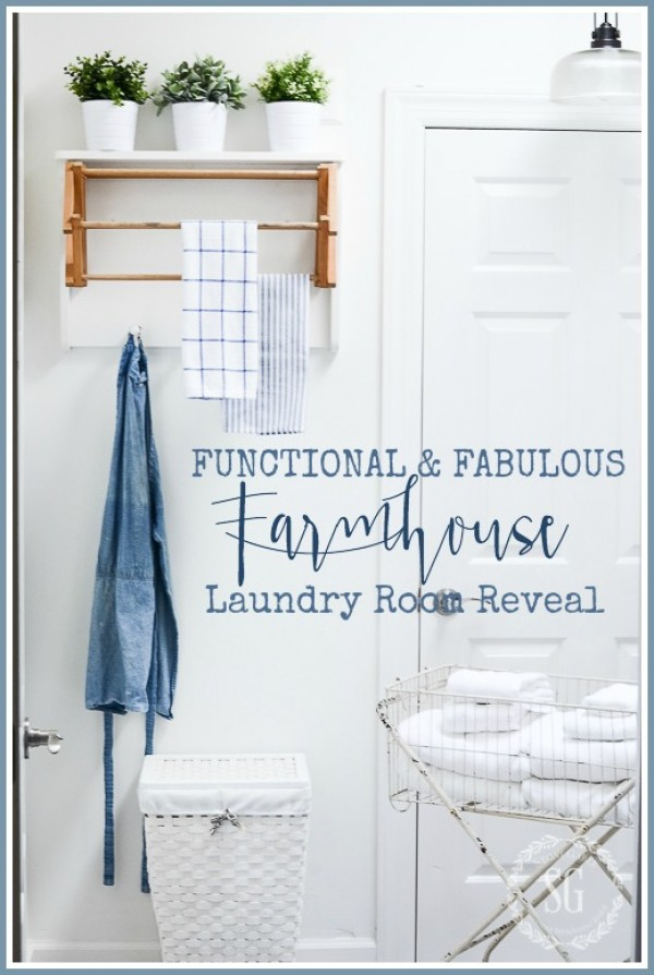 FUNCTIONAL AND FABULOUS LAUNDRY ROOM REVEAL