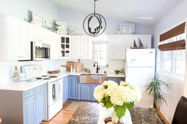 Coastal Cottage Kitchen Makeover