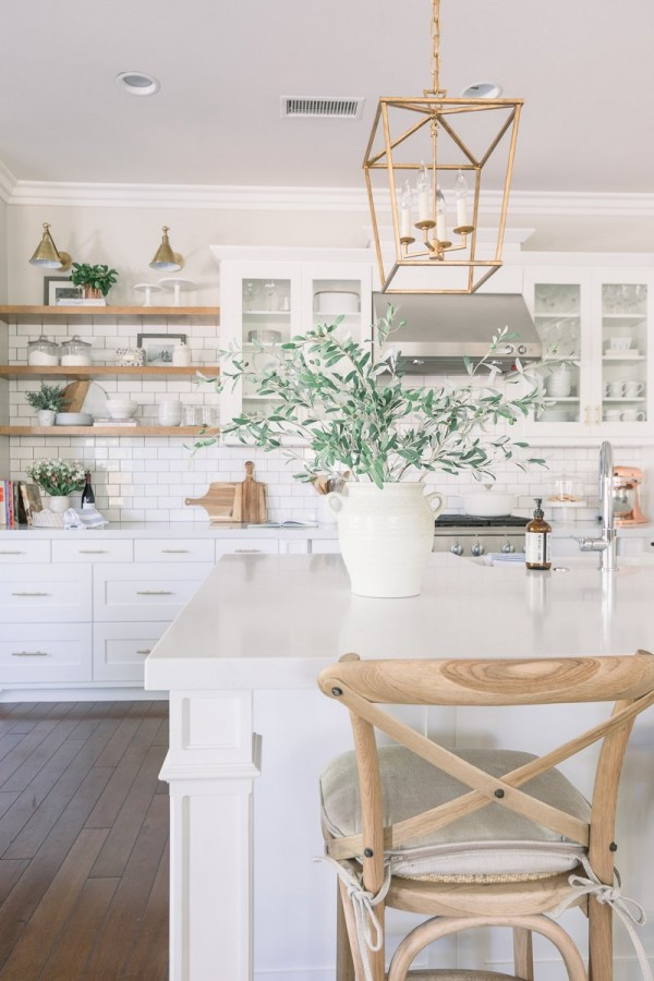 White & Bright Kitchen Reveal