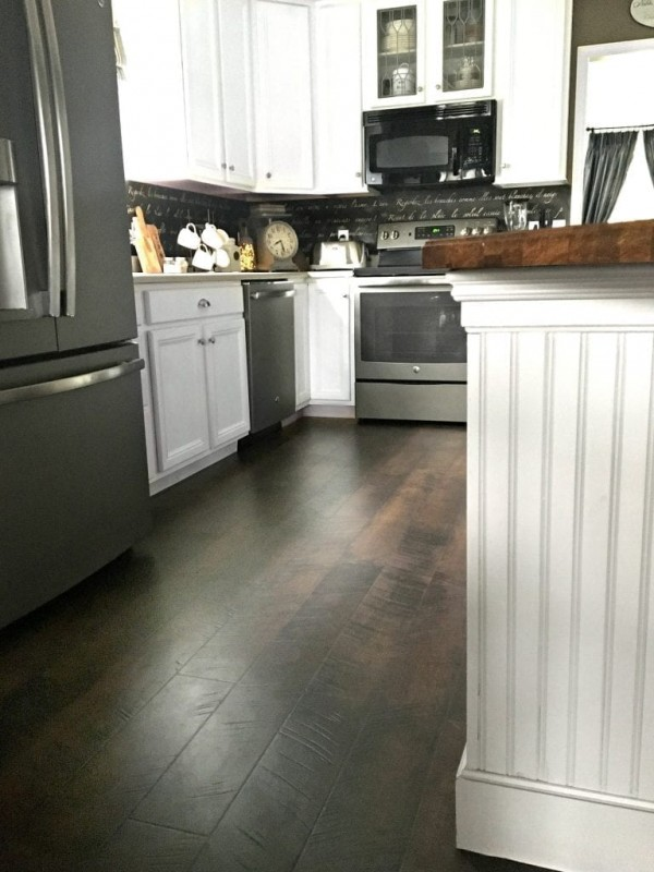 pergo flooring kitchen reveal