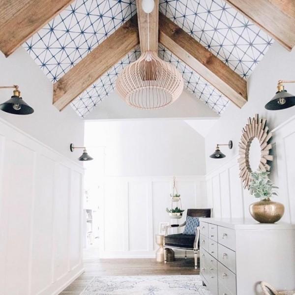 39 Stunning Vaulted Ceiling Design Ideas