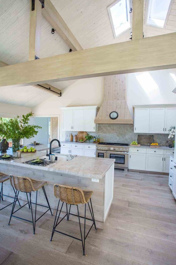 Dramatic Before and After Kitchen Reveal #kitchendesign #ceilingdesign #homedecor #interiordesign