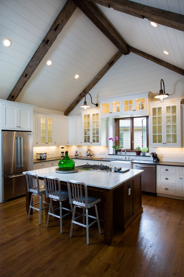 Remodel Project #vaulted #ceiling #homedecor #interiordesign
