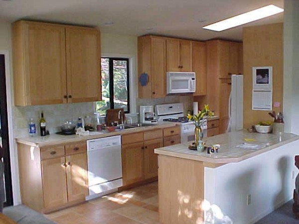 Kitchen Remodel with Vaulted Ceiling in Marin -