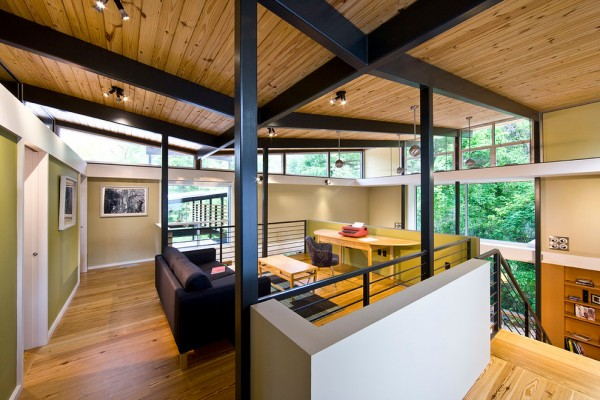 RainShine House, a LEED Platinum certifited EarthCraft house    design