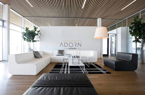 "Adorn Interiors on Instagram: ""#interiordesign#woodenceiling #woodencladding #woodenart #modernceilingdesign #modernceilings#ceilingart #falseceilingdesign #coustumize…"" #ceiling #homedecor #interiordesign #ceilingdesign #wooden"