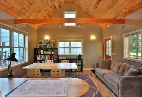 Architect's Studio #ceiling #homedecor #interiordesign #ceilingdesign #wooden