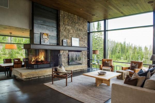 Rustic Living Room #ceiling #homedecor #interiordesign #ceilingdesign #wooden