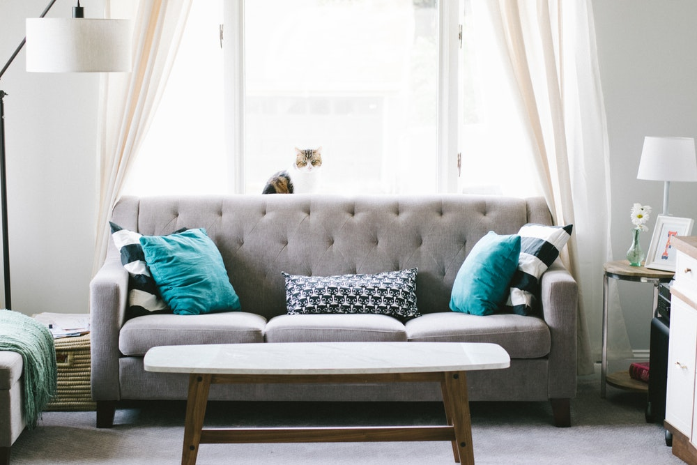 20 Creative Living Room Ideas With A Grey Sofa And The