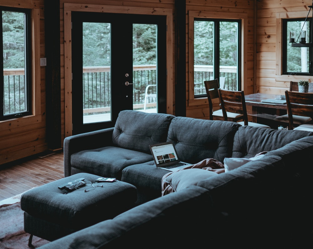 sectional living area