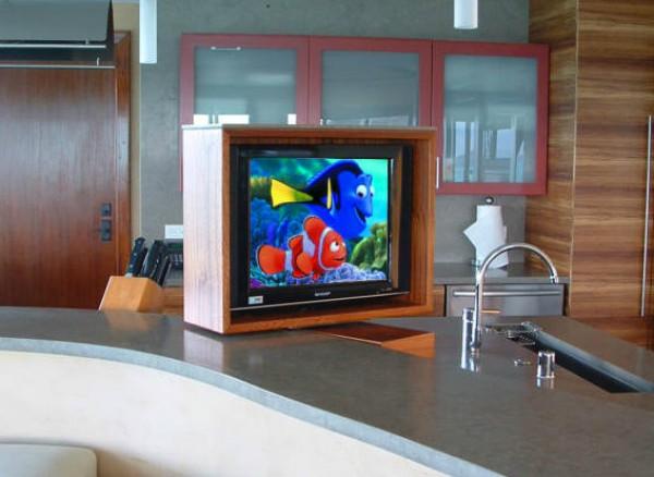 Small Kitchen TV