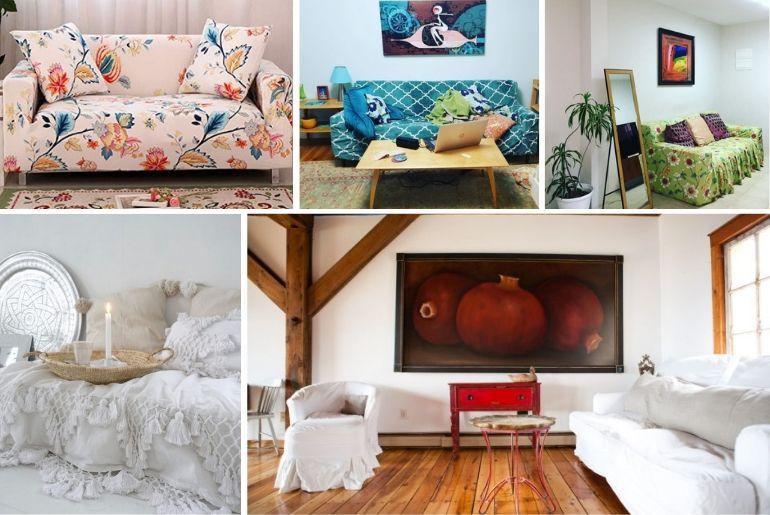 sofa cover ideas