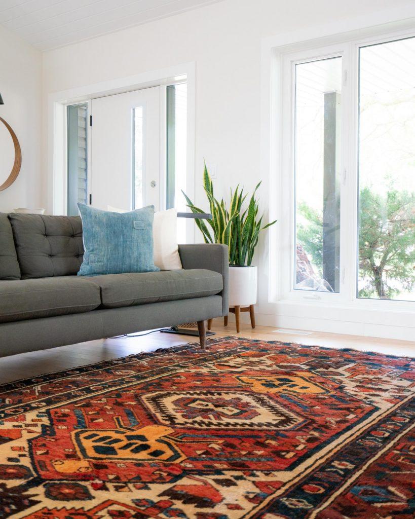 persian carpet interior