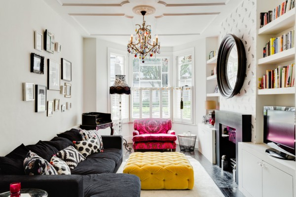 20 Best Living Room Decorating Ideas with a Black Sofa