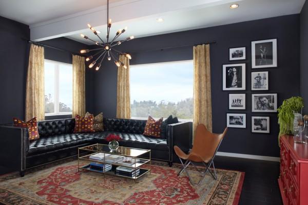 Rockstar Inspired Family Room
