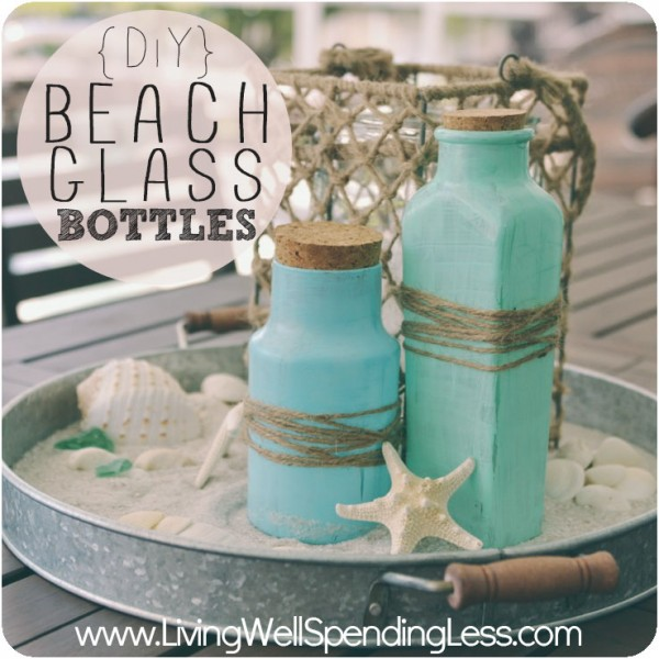 Beach Glass Bottles