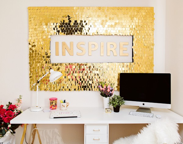 Sequins Wall Art