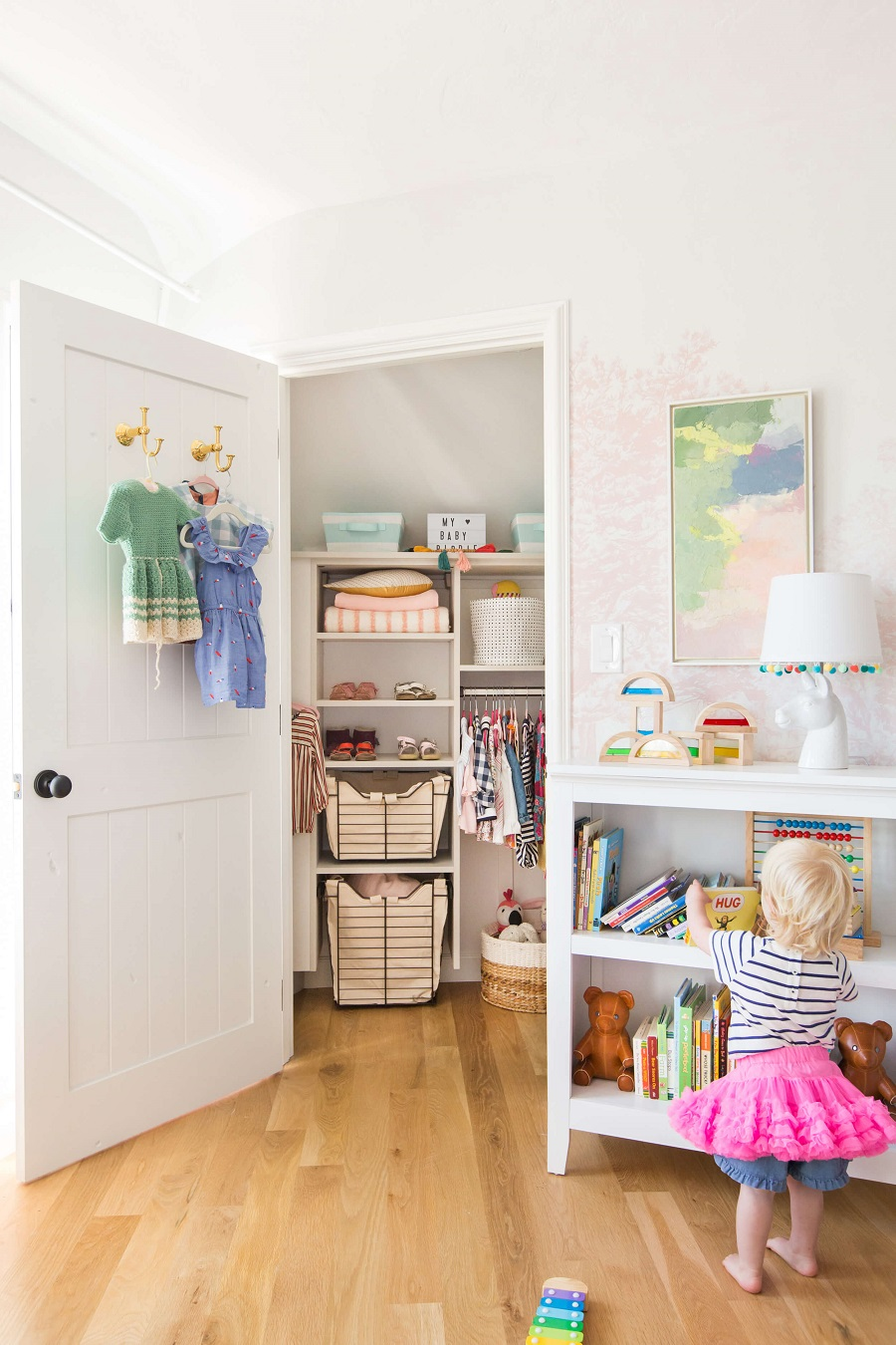 functional closet door