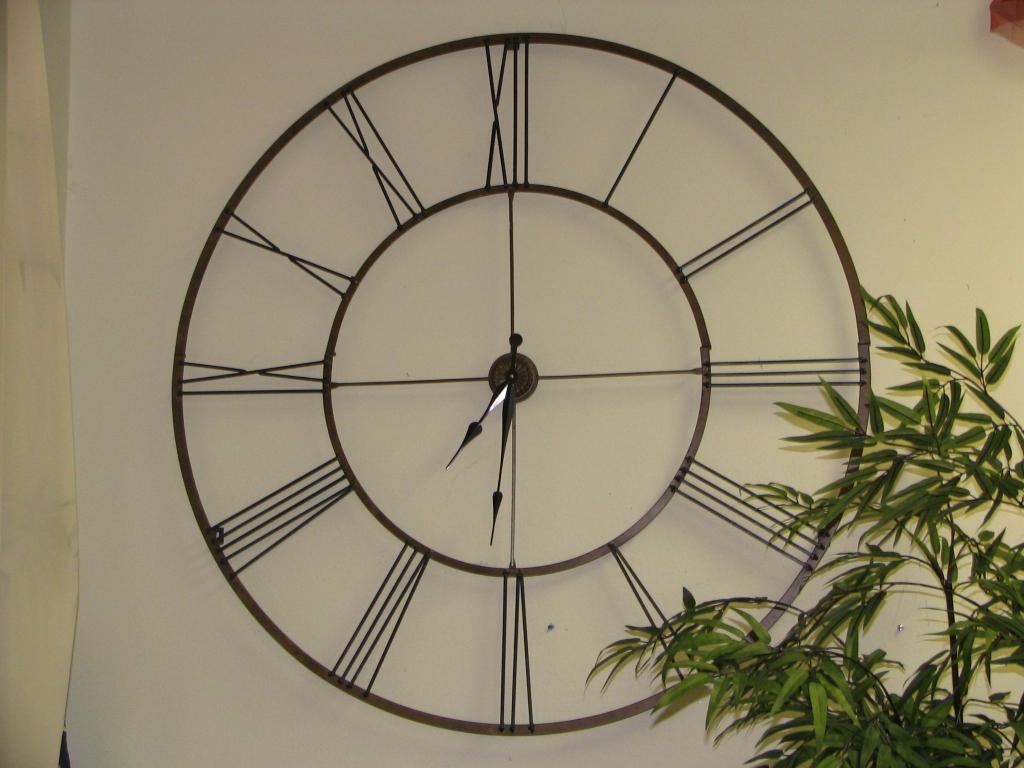 large garden clock - Large Garden 2015
