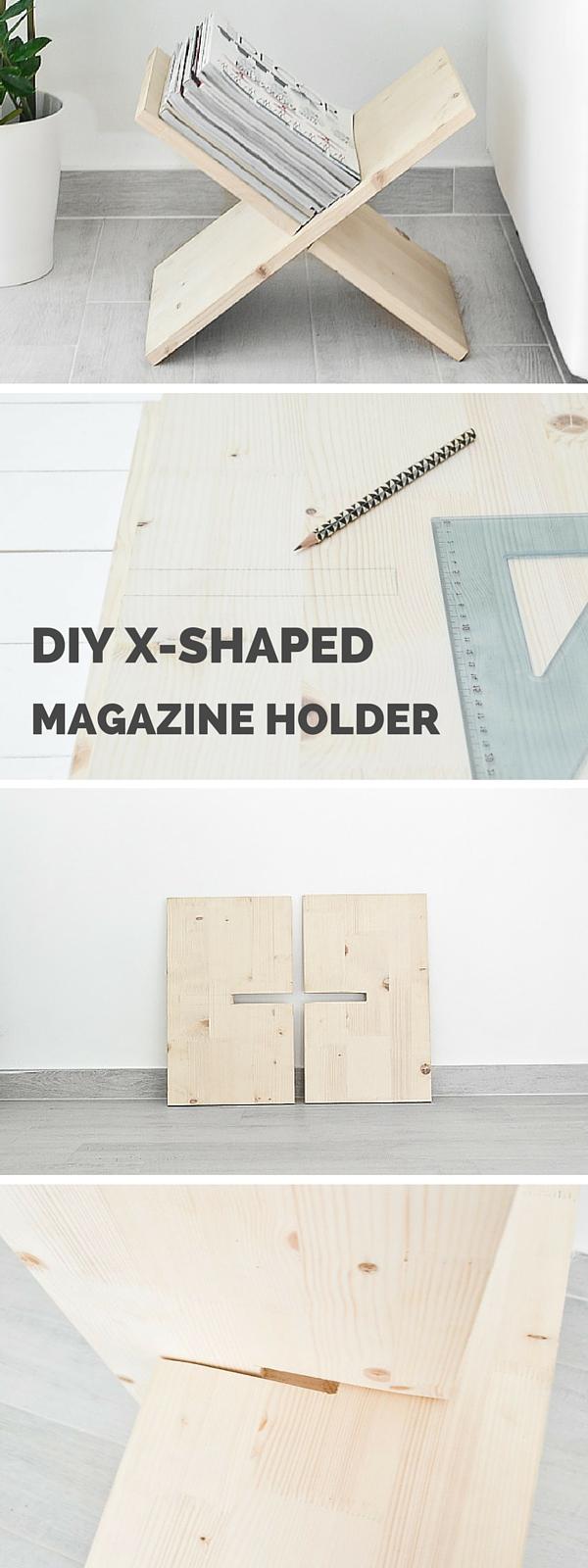 X magazine holder