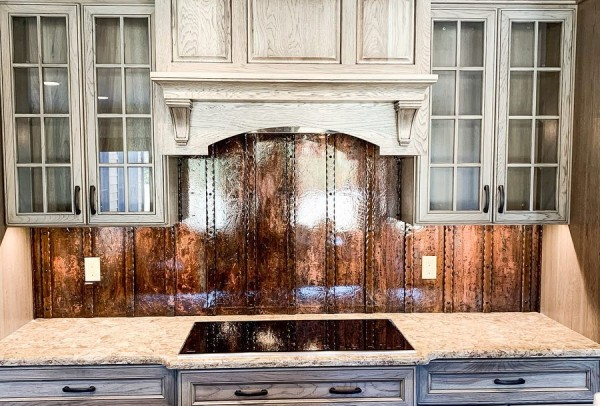 "Sharpco Welding on Instagram: ""Custom acid stained, hammered bar, and steel back splash we did for a kitchen renovation in Clare County."""