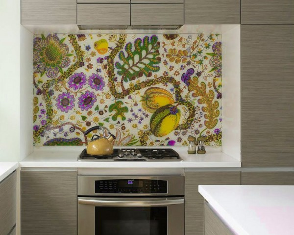 unique backsplash