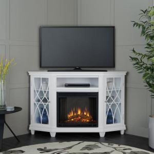 43 Creative Corner Fireplace Ideas