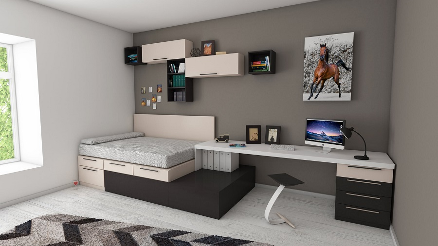 functional bedroom