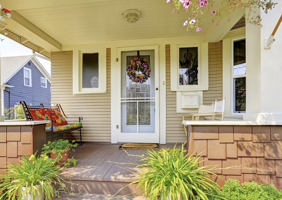 curb porch