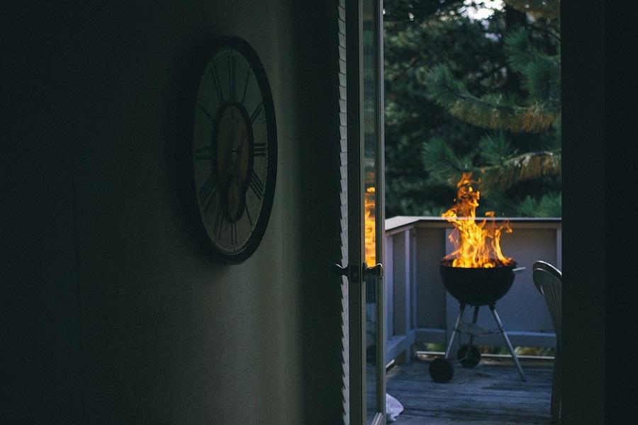 deck fire pit